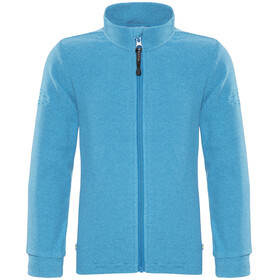 Isbjörn Lynx Jacket Children Microfleece blue